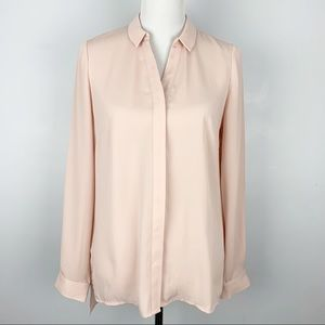Laundry light pink button down shirt size S
